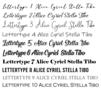Vierkant doosje 'hartje of eigen tekst'